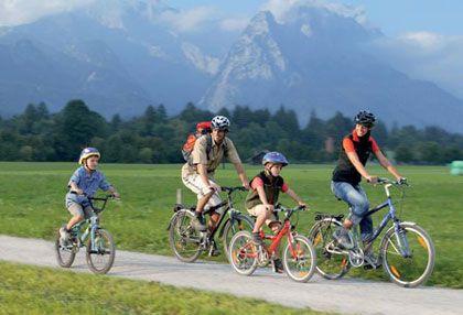 Radtouren und Radwanderwege in Bayern