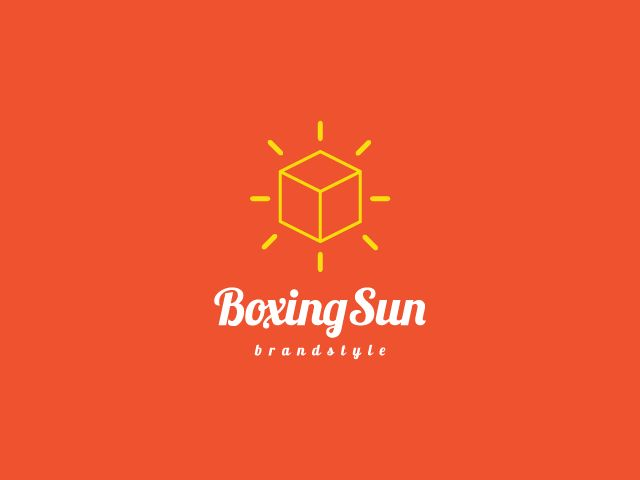 BoxingSun Logo Design, buy it: http://brandcrowd.com/logo-design/details/82406