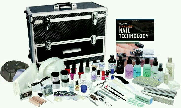 Nail kits for beginners. Milady's instruction whyclary