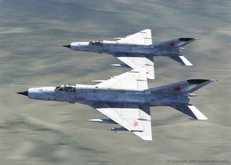 Mig | Mikoyan Gurevich MiG-21 - Oxygino Aviation Art