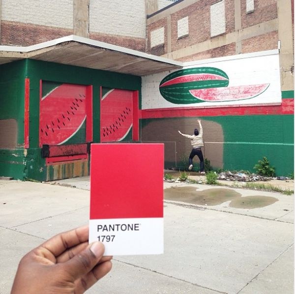 The Pantone Project, Photographer Matches Pantone Swatches to Real World Objects