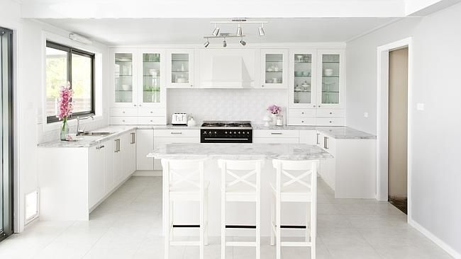 Fancy an all-white gloss-finished kitchen?