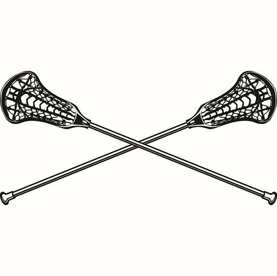 Lacrosse Logo 2 Sticks Crossed Equipment Field Sports Game Outfit Uniform Svg Eps Png Digital Lacrosse Sticks Girls Lacrosse Sticks Womens Lacrosse Sticks