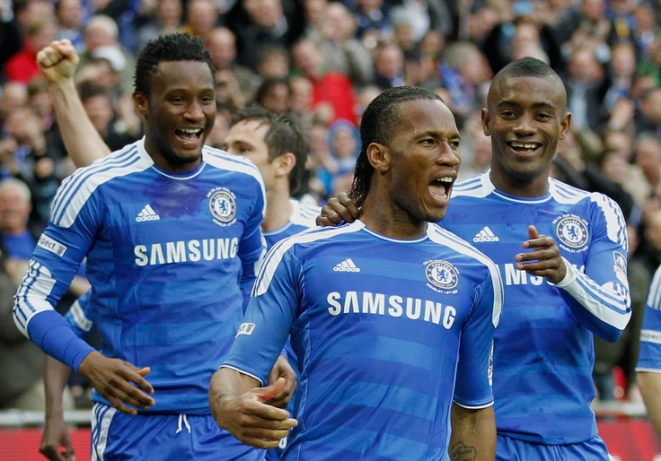 FA Cup Winners 2012 #Drogba the only player to score in four different FA Cup final