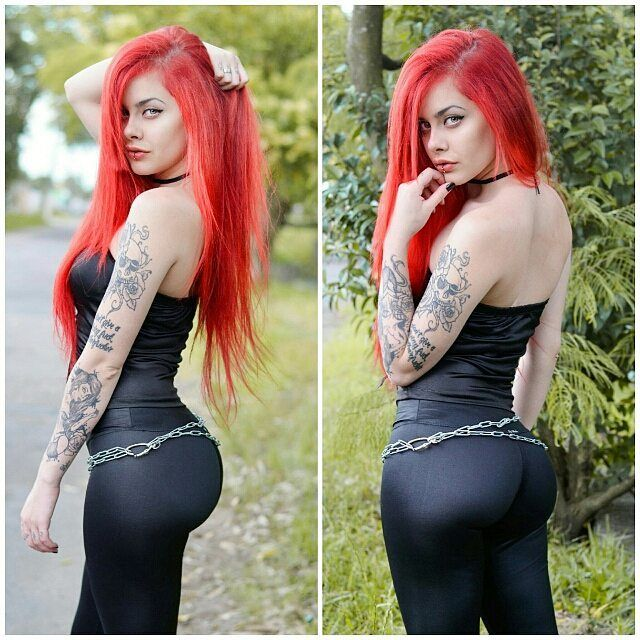Sexy girls with red hair
