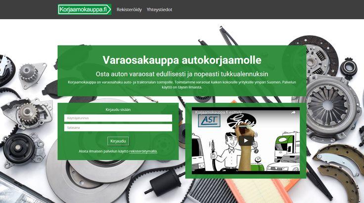 Varaosakauppa autokorjaamoille - Spare part shop for garages. Virtasenkauppa - Korjaamokauppa - Verkkokauppa - Online store.
