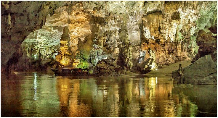 The Phong Nha-Ke Bang National Park, Vietnam.