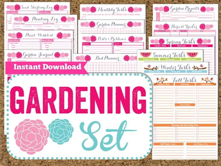 40 best Garden journal images on Pinterest Garden journal