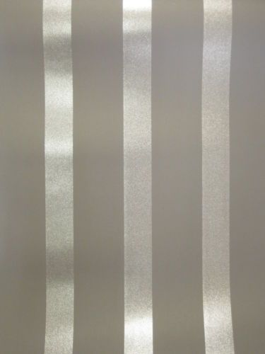 Stripe striped glitter sparkle charcoal grey gray silver for Grey striped wallpaper living room