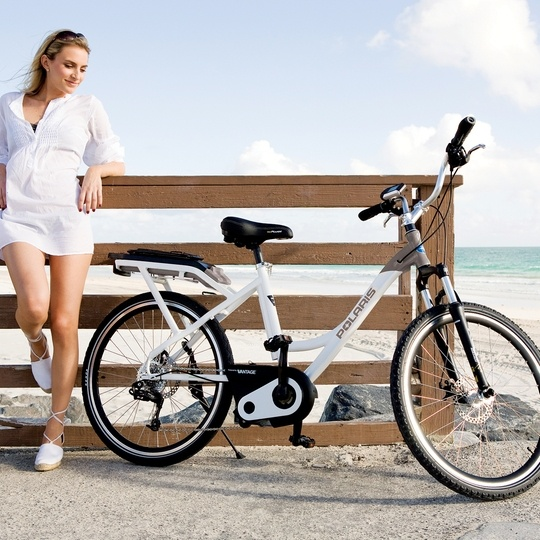 Expand your radius and get lost in your city with this street-legal electric powered bicycle.