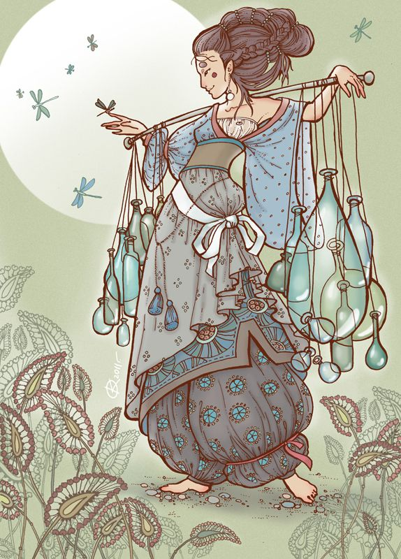 Ksenia Federova - Glass Merchant