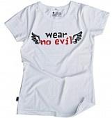 Etiko WearNoEvil White Women's - Fairtrade