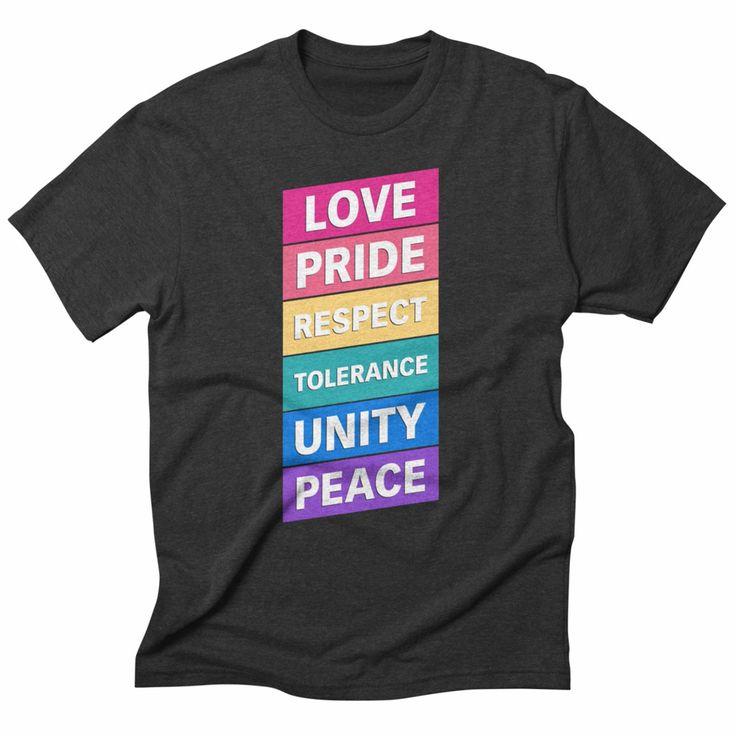 Six words, Heather t-shirt. #tshirt #love #pride #peace #tolerance #lgbtqi #lgbt #humanrights #equality #gayrights #apparel #clothing