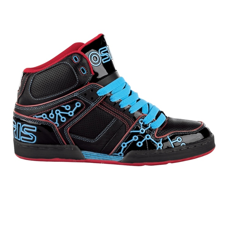 osiris shoes, these remind me of Tron