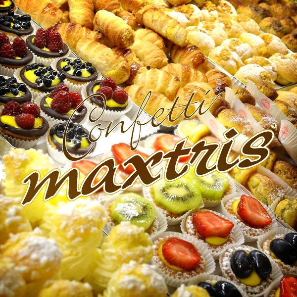 #confetti #maxtris #patisserie #confectionery #sweet #dolce