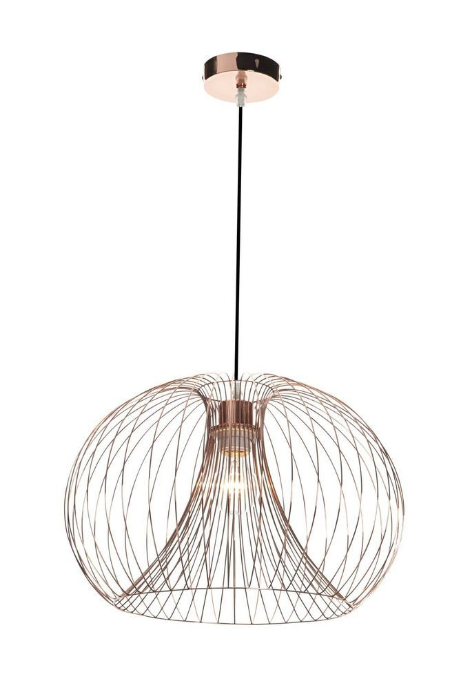Rose Gold Pendant Light