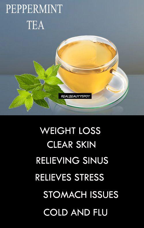 peppermint herbal tea weight loss