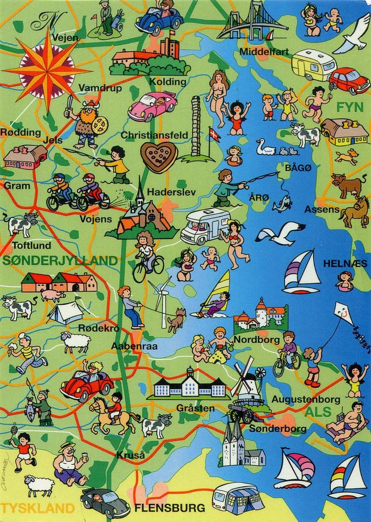 NL RR #177 Ik ga op vakantie naar... Denemarken - EricaDonker (Postcrossing forum).