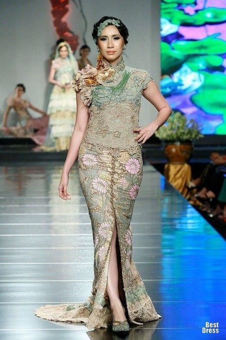 Kebaya Modern Anne Avantie 2015 Model Kebaya Anne Avantie Brokat Putih ...