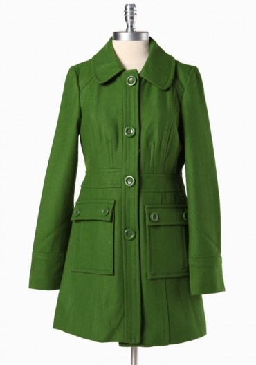 Secret Ballad Coat In Clover By Tulle  $97.99: Jacket, List Coats, Ballad Coat, Dresses Coats, Style Pinboard, Secret Ballad