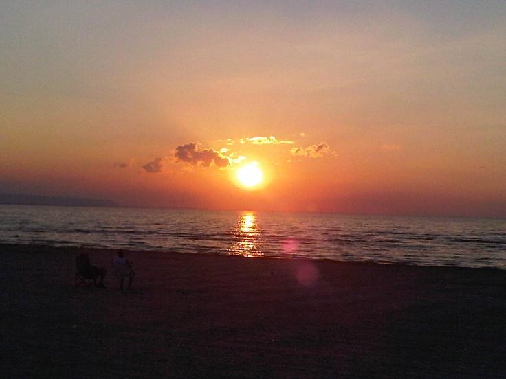 Sunset @Wasaga Beach, Ontario Canada
