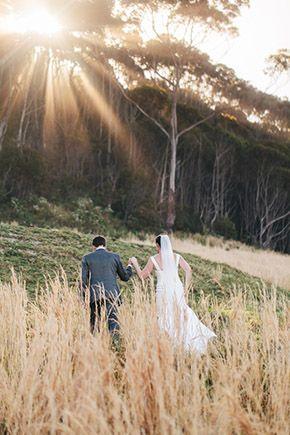 New South Wales, Australia Destination Wedding on the Beach // photography by: www.hilarycam.com.au/