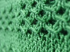 Irish Mesh Stitch. Plus free Ravelry pattern: Irish Mesh Cowl by Jo Strong