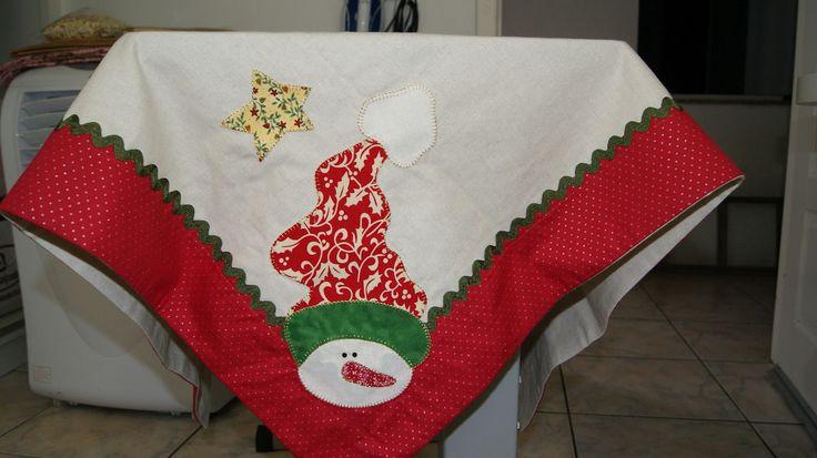 toalhas de mesa de natal pintadas - Pesquisa Google