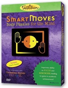 """""""SmartMoves™ is an award-winning cognitive fitness program that combines music and movement to transform the classroom and change the way students learn.    * Improves focus, attention, and retention.    * Activates students' brains for optimal learning.    * Immediately reduces stress and improves mood.""""    We use this EVERY day!!"""