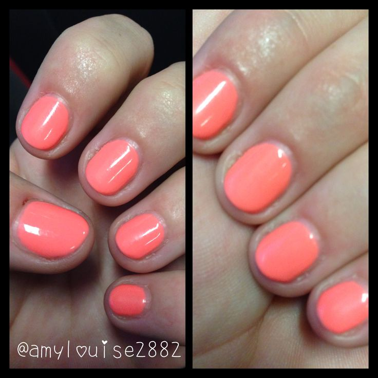 Swatch of Gelicious 'Electric Melon'