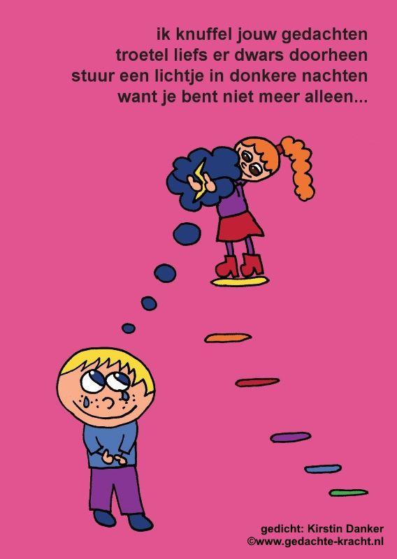 Postkaart, verkrijgbaar vanaf 2014 op www.gedachte-kracht.nl