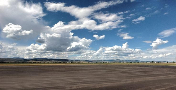 afton+wy+pics | Afton, Wyoming, on the ramp at the fixed-base, the Afton Municipal ...