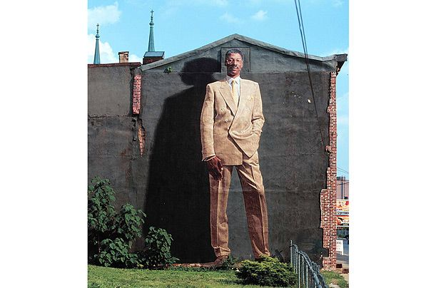 14 best our up and coming murals paint day photos for Dr j mural philadelphia