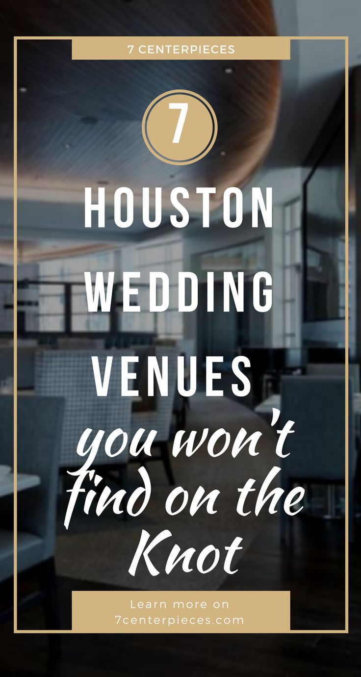 This article contains Houston wedding venues you won't find on typical venue directories! I thought I knew about every venue in Houston but this article contained HIDDEN GEMS! If you're looking for a unique venue in Houston, don't wait--PIN IT NOW!