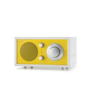 Model 1 Frost White/Yellow /  Tivoli Audio