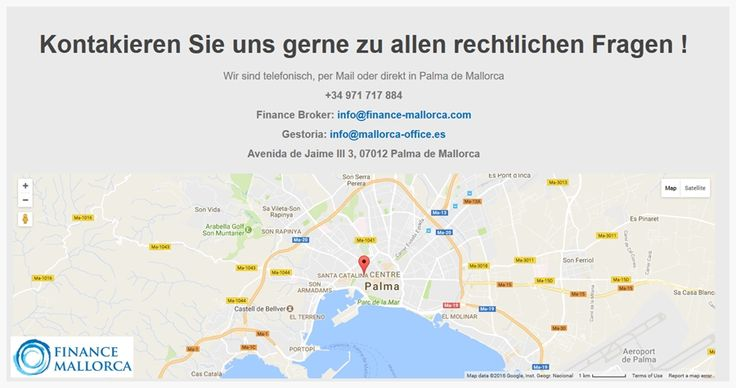 Hypotheken und Finanzierung - Finance #Mallorca  #Gestoria #Mortgage #Hypothek