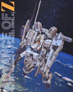 Custom Build: HGUC 1/144 RX 121-1 Gundam TR-1 Owsla Hazel Custom - Gundam Kits Collection News and Reviews