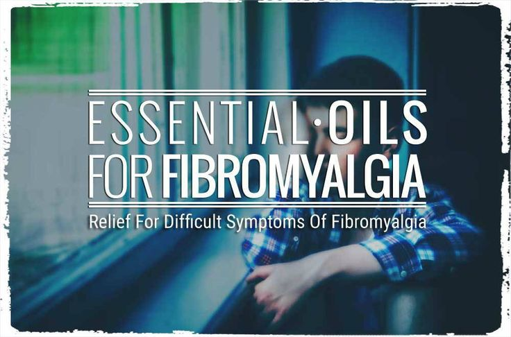 essential oils for fibromyalgia