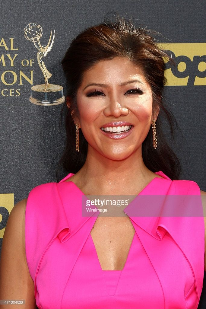 TV personality Julie Chen attends the 42nd annual Daytime Emmy Awards held at Warner Bros. Studios on April 26, 2015 in Burbank, California.