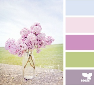 I have been looking like a palette like this for my bedroom, something with blue and purple. :)