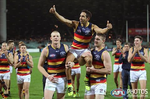 Eddie Betts, played his 250th game 20.8.16. He kicked 5 goals
