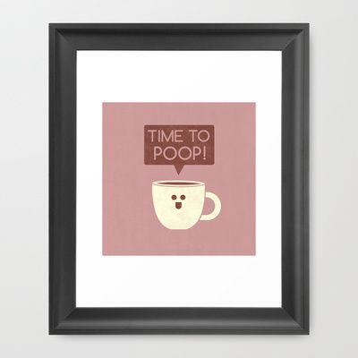 The Helper Framed Art Print by Teo Zirinis - $33.00