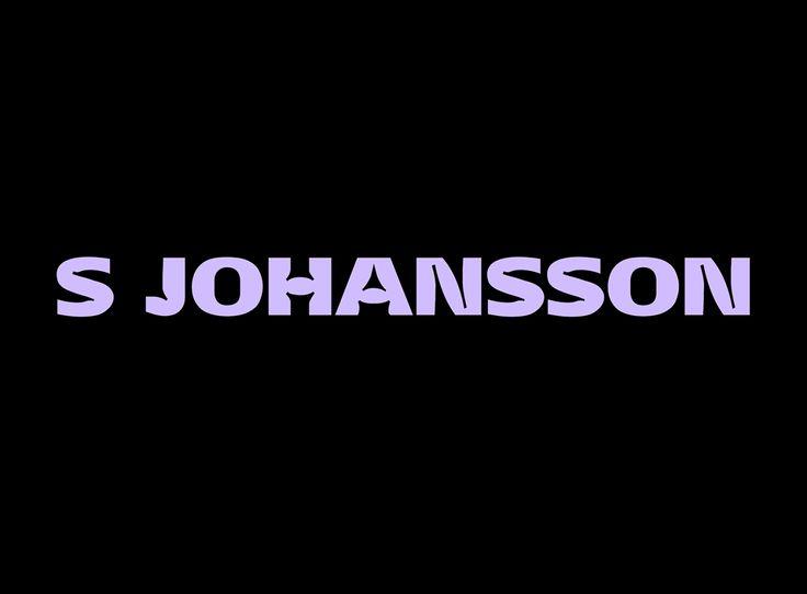 S Johansson Type face — June 2015