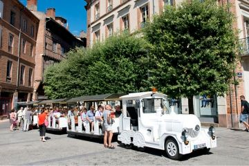 Le petit train touristique albigeois