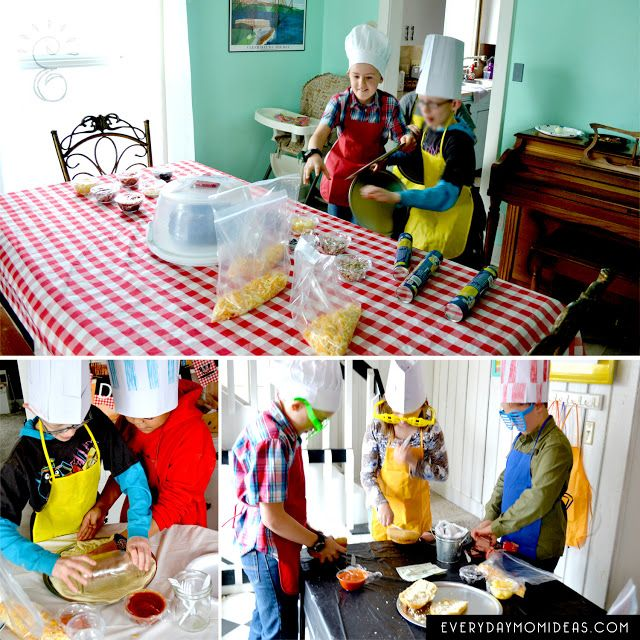 cutthroat kitchen birthday party for tweens and teens! Lets get cooking!
