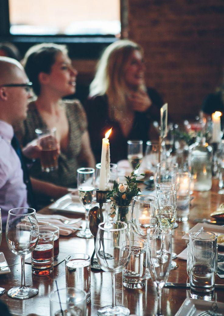 Reception Venue: Good Luck Restaurant - http://www.stylemepretty.com/portfolio/good-luck-restaurant Photography: Tawni Lee Weddings - http://www.stylemepretty.com/portfolio/tawni-lee-weddings   Read More on SMP: http://www.stylemepretty.com/2015/12/08/photography-focused-fall-wedding/