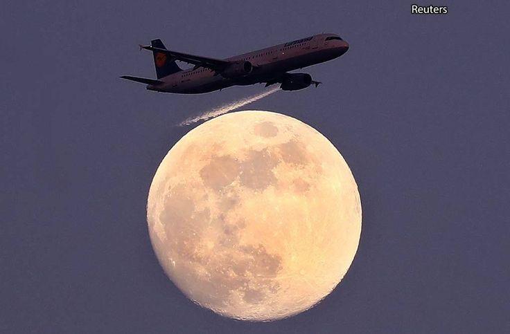 Lufthansa Франкфурт Германия.