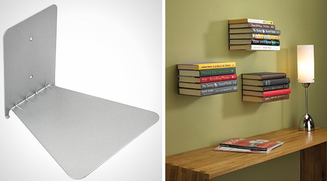 15 Floating Shelves That Make the Most of Your Space via Brit + Co.