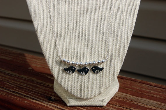 Silver birds silver beads by alittleobsessed on Etsy, $30.00: Silver Beads, Etsy, Silver Birds, Promotion, Sterling Silver, Birds Silver, Alittleobsessed, Shameless, 30 00