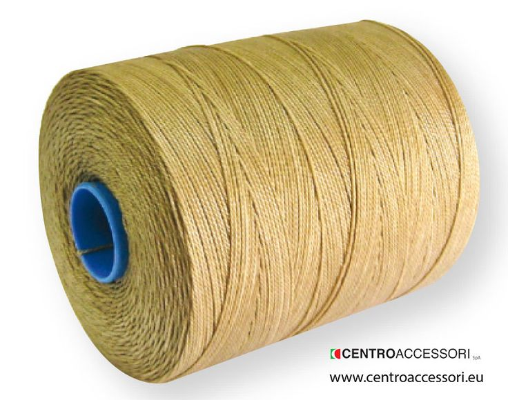 Spago lino braid 100% lino. Braided linen thread for rapid machines. #CentroAccessori
